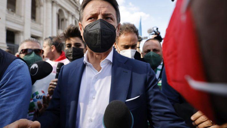 """Conte """"Leali a Draghi ma pretendiamo rispetto degli impegni"""""""