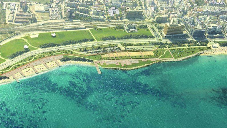 Bari, il progetto della grande spiaggia della costa Sud