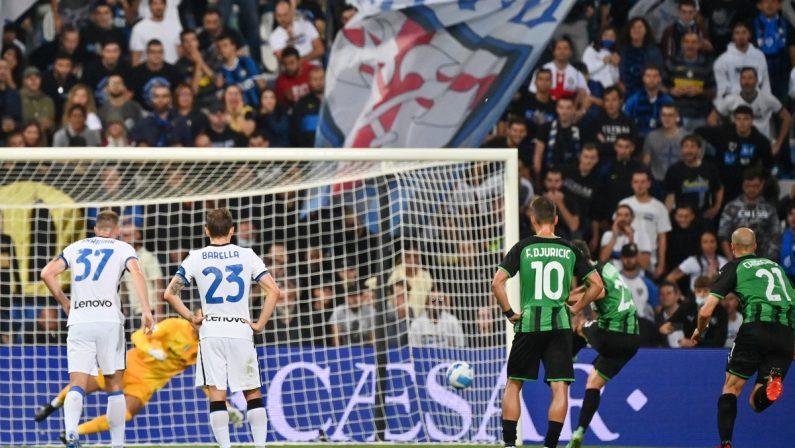Domenico Berardi affianca Iaquinta nella classifica dei goleador calabresi in Serie A