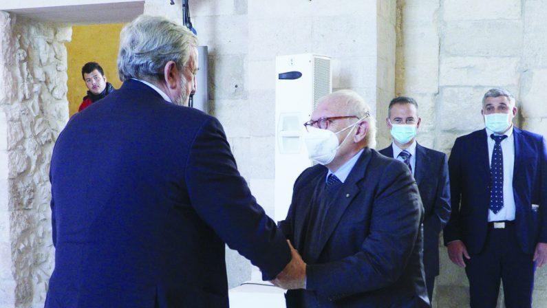Il ministro Bianchi a Trani per il nuovo anno scolastico: «Più posti negli asili, Sud priorità»