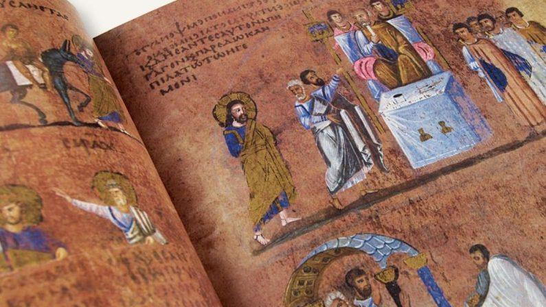 """""""Sfogliando il Codex"""", a Rossano la cerimonia suggestiva del prezioso evangelario"""