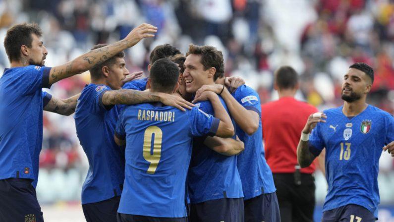 Nations league, l'Italia batte il Belgio e chiude al terzo posto
