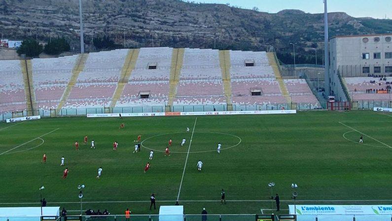 Serie C: la Vibonese pareggia a Messina in un confronto senza lampi