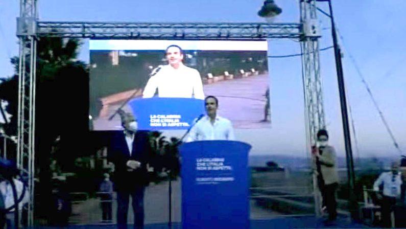 Calabria al voto, Occhiuto: «Abbiamo vinto ed abbiamo vinto bene»