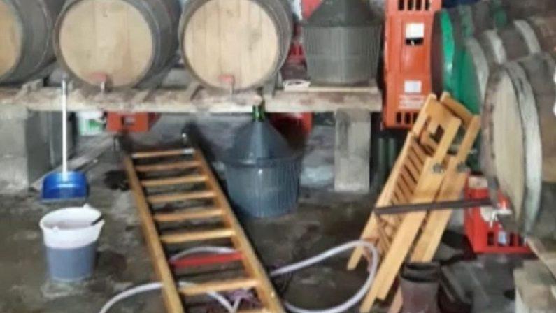 Tragedia a Paola, 4 morti e 1 ferito per esalazioni del mosto