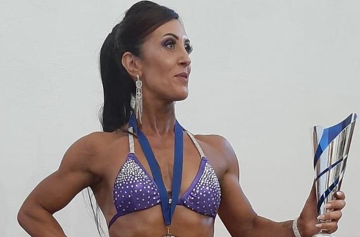 La vicesindaco campionessa di body building: la storia della vibonese Sara Suriano