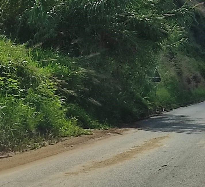 Cede il terreno sulla strada tra Pizzo e Vibo Marina, disagi per la viabilità