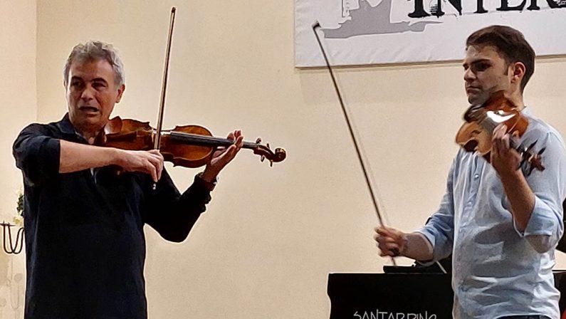 Masterclass del violinista Stefano Pagliani al Cantiere musicale internazionale