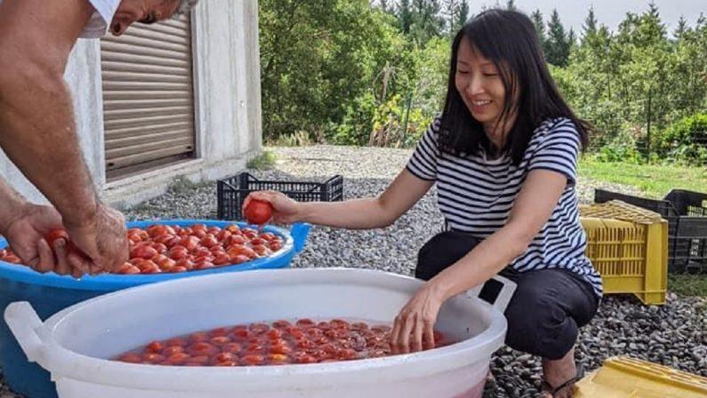 L'educazione silanadi Luke e Denise: tra funghi, pomodori e i consigli di mamma Bina
