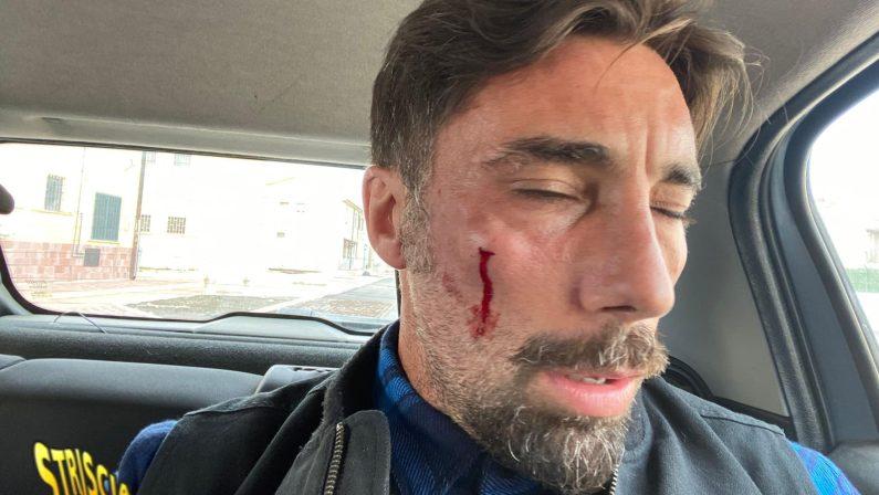 San Severo: aggredito Brumotti, l'inviato di Striscia la notizia