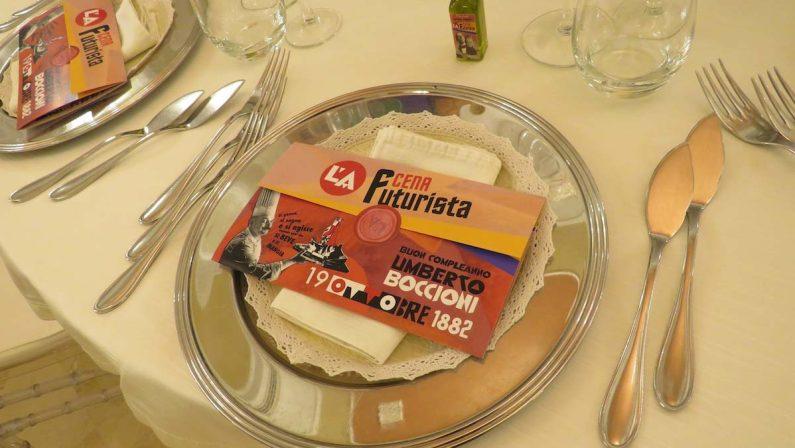 """Reggio Calabria: """"L'A Cena Futurista"""" tra cibo, musica ed arte- FOTO"""