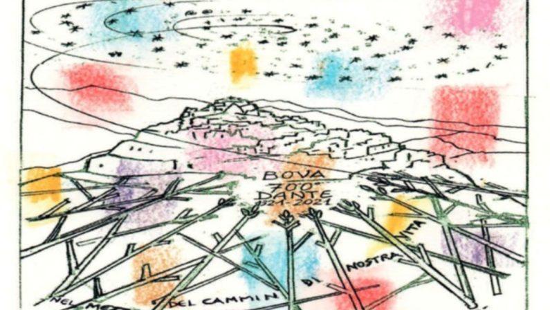 Poste italiane, a Bova annullo e cartolina per celebrare Dante