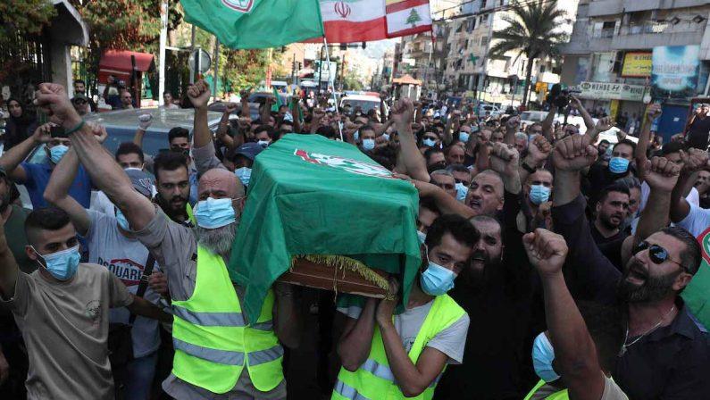 Libano, la storia si ripetein tragedia: l'ombradi un'altra guerra civile