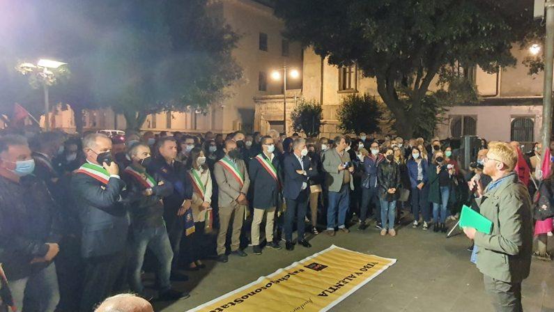 Libera si riprende la piazza di Vibo: «Non abbassare la guardia»
