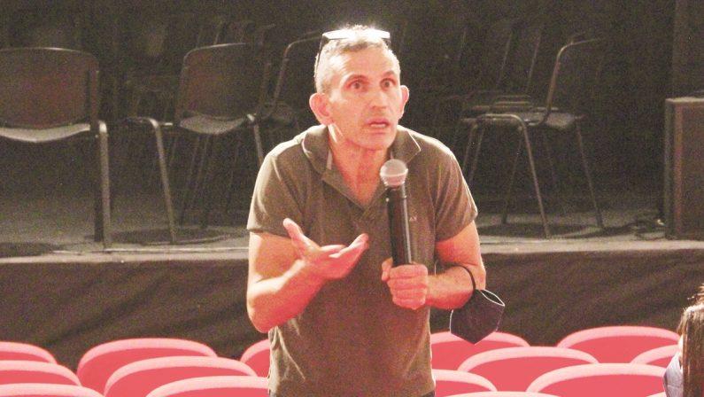 Frammartino torna a Caulonia: «In Calabria c'è metà della mia vita»