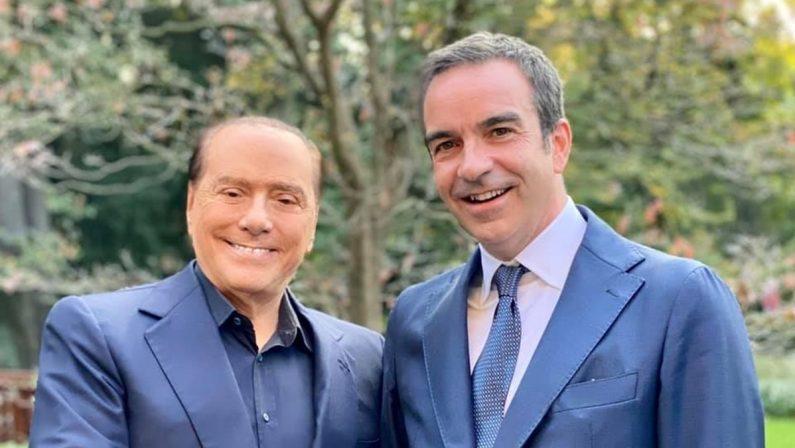 Occhiuto incontra Berlusconi a Milano: «Non vede l'ora di tornare in Calabria»