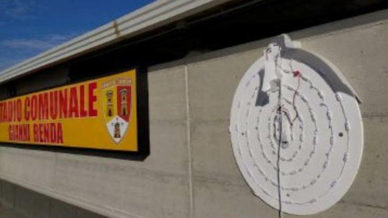 """Al """"Renda"""" divelto il logo del Lamezia Terme, la squadra unica continua a dividere"""