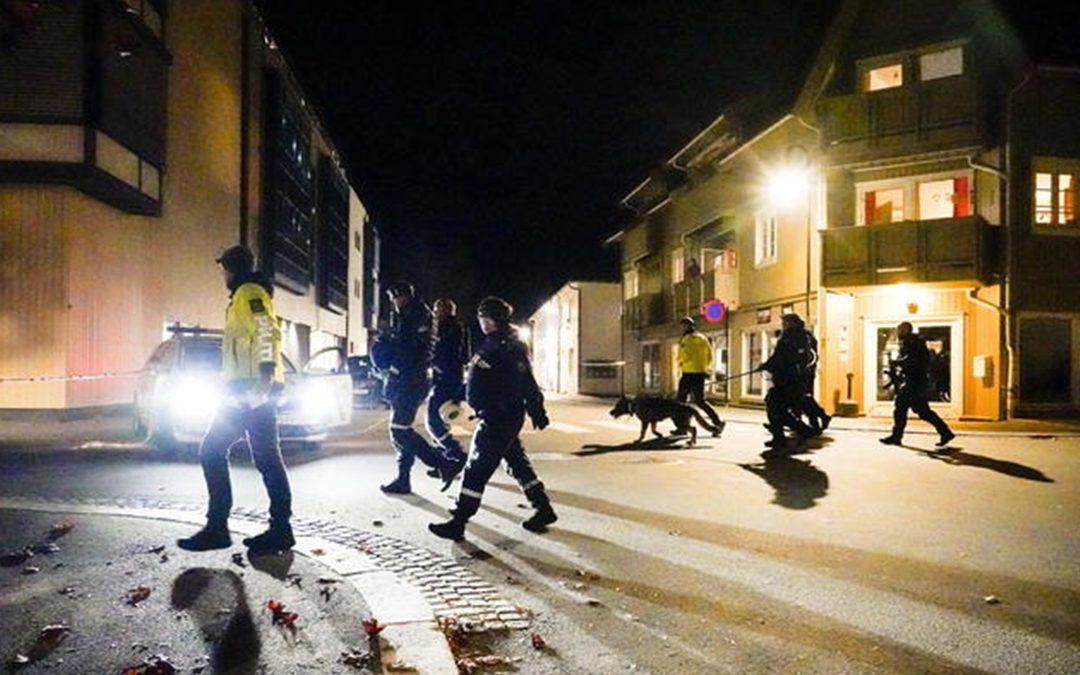 L'attacco a Kongsberg