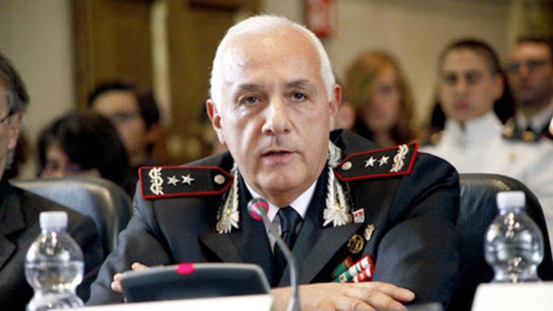 Il comandante generale dell'Arma in visita alla Legione carabinieri Calabria