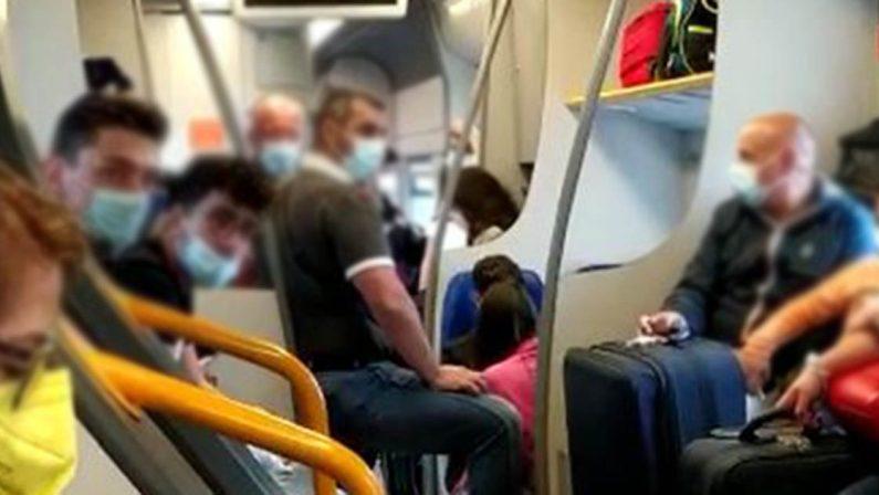 Covid, preoccupazione dei viaggiatori sui treni regionali in Calabria
