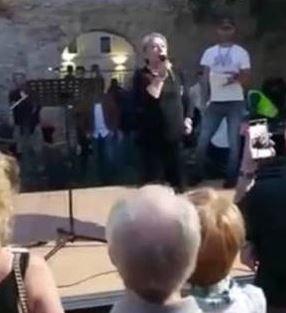 L'invito no vax a fare una Marcia su Potenza - IL VIDEO